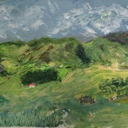Skiddaw to Broadend.....with artistic licence!