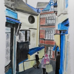 Back Street, Whitby, North Yorks