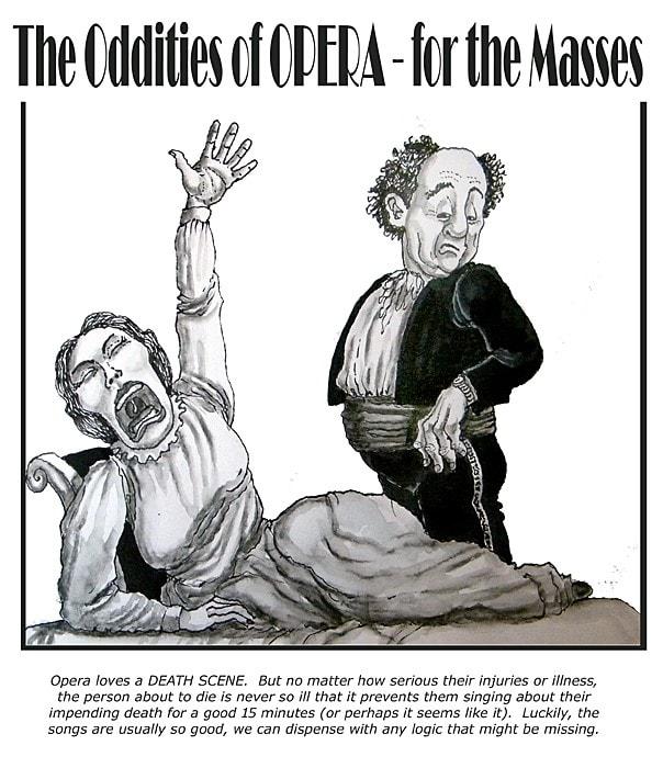 Oddities in Opera-The death scene.