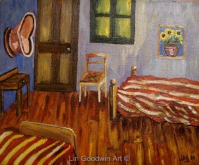 Servants Room A La Van Gogh