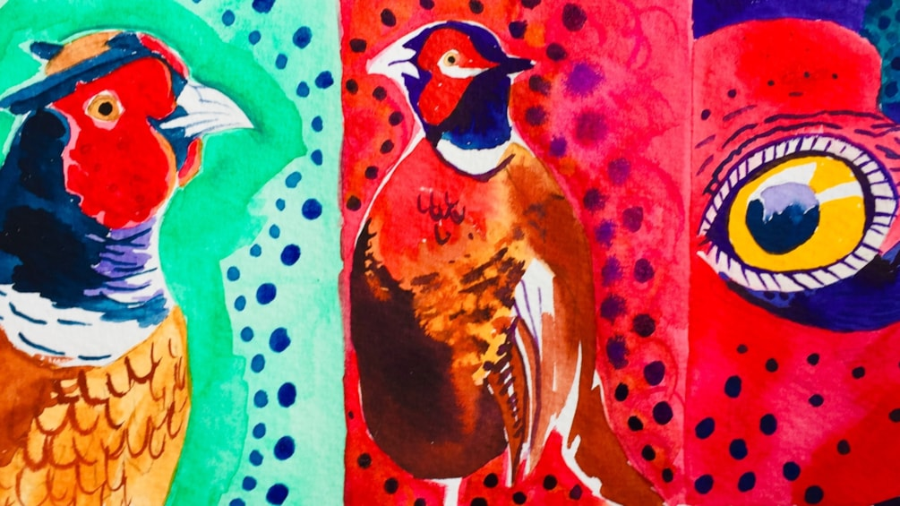 Pheasants!