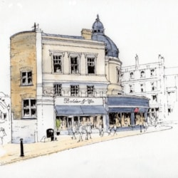 The Quadrant in Richmond Upon Thames ~ sketch