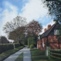 Lace makers cottages, Enville, Staffordshire