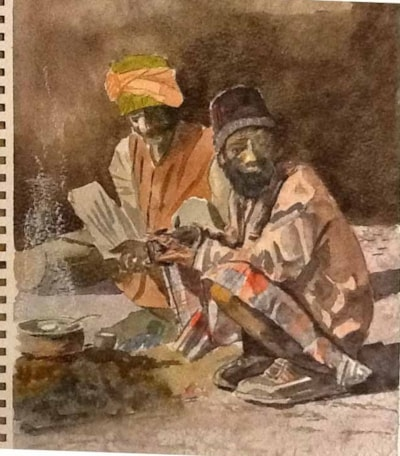 two men of Dehli