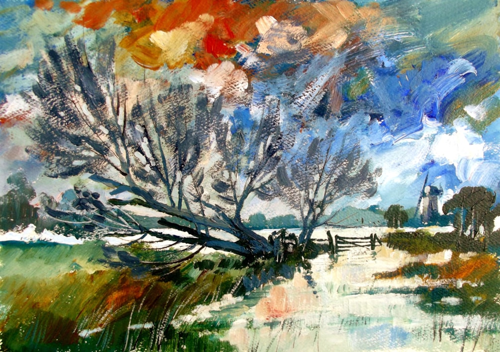 Fallen Willow, Norfolk.