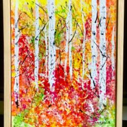 Birches Impression