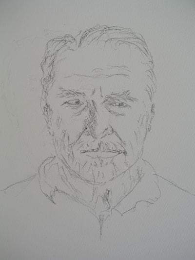 Self-portrait (sketch)