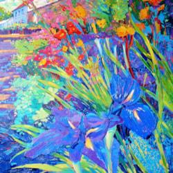 Summer in the walled garden