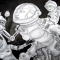 Sci-Fi doodle.