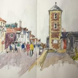 On the Promenade in Aldeburgh