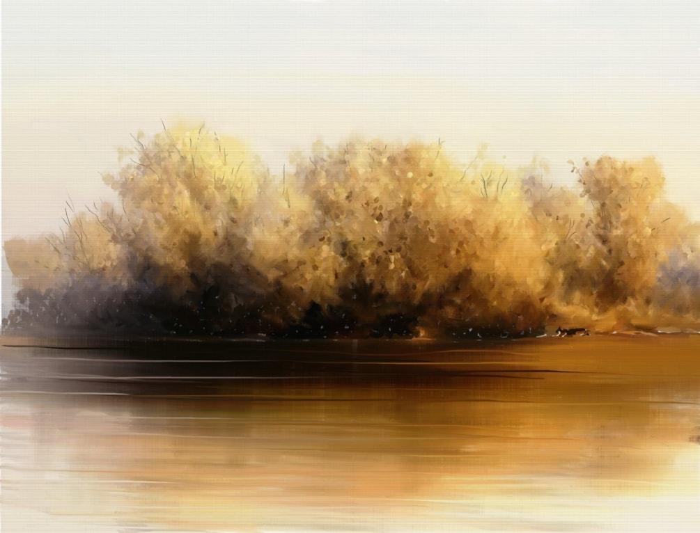 A Winter's River