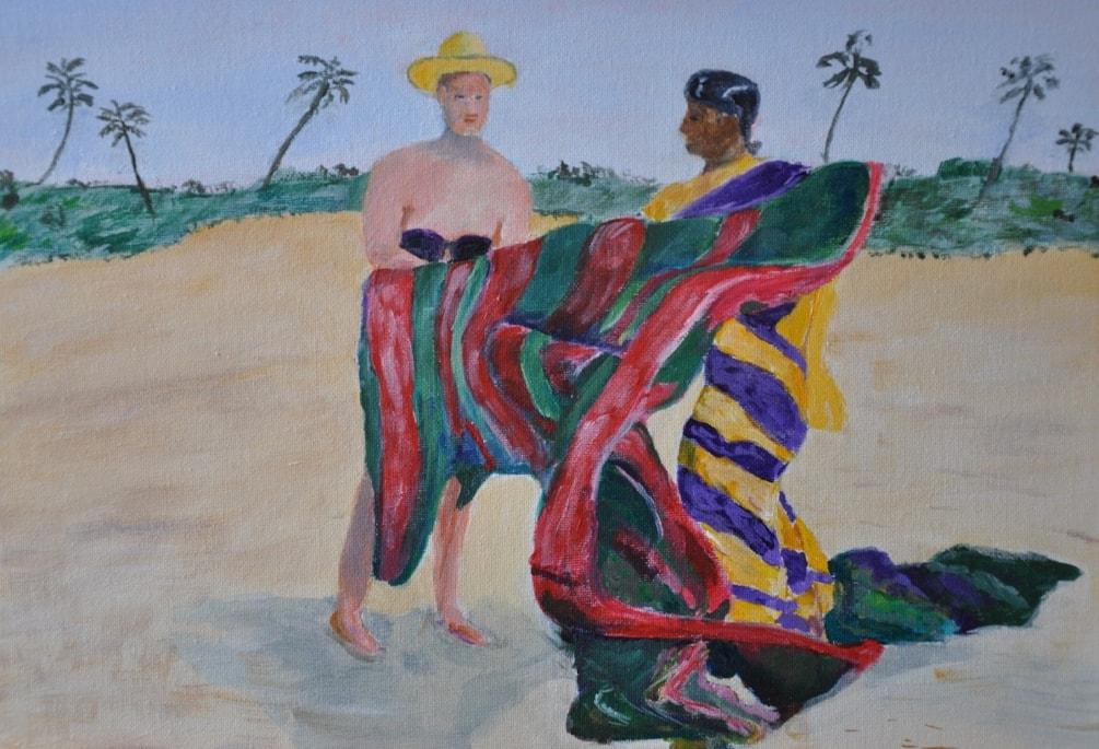 The Beach Seller, Goa