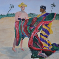 The Beach Seller, Goa