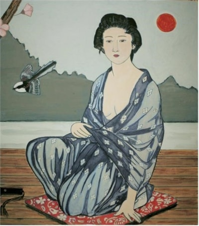 early morning geisha