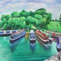 Canal Boats at Riley Green Lancashire