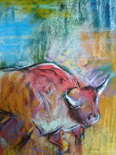 'Charging Bull'