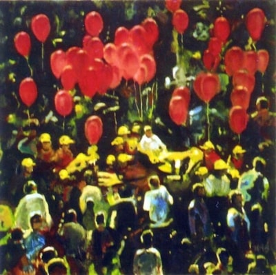 Yellow Hats & Red Balloons