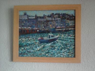 Weymouth harbour fishing boat