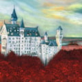Castle in the Red of Autumn