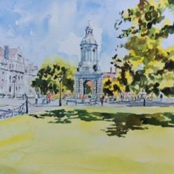Trinity college ,Dublin