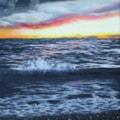Fiery Seascape - Ynyslas