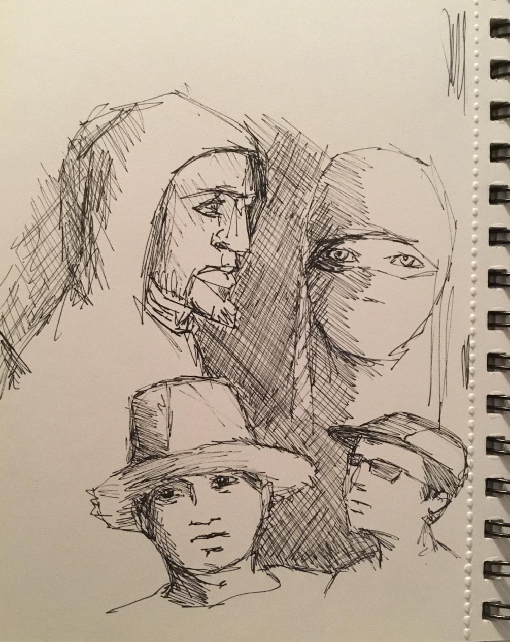 Headgear Doodles