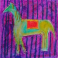 Horses 4 Courses Doodles Series. Number: Three