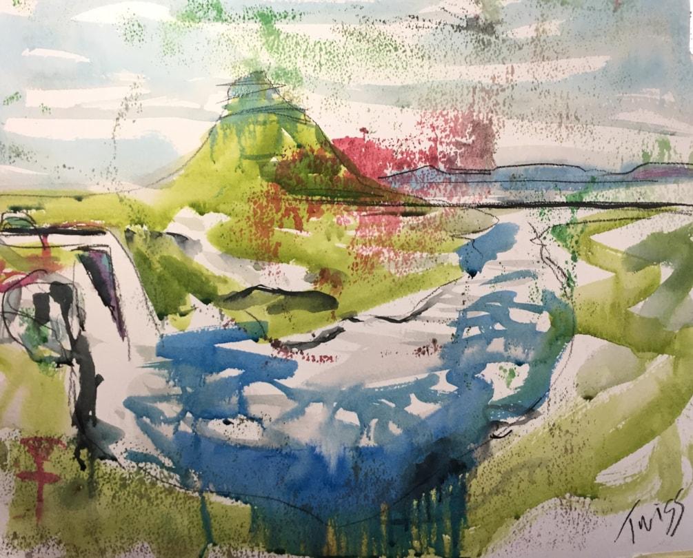 Kirkjufell & Kirkjufellsfoss Waterfall