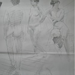 Life Drawing in Coventry.