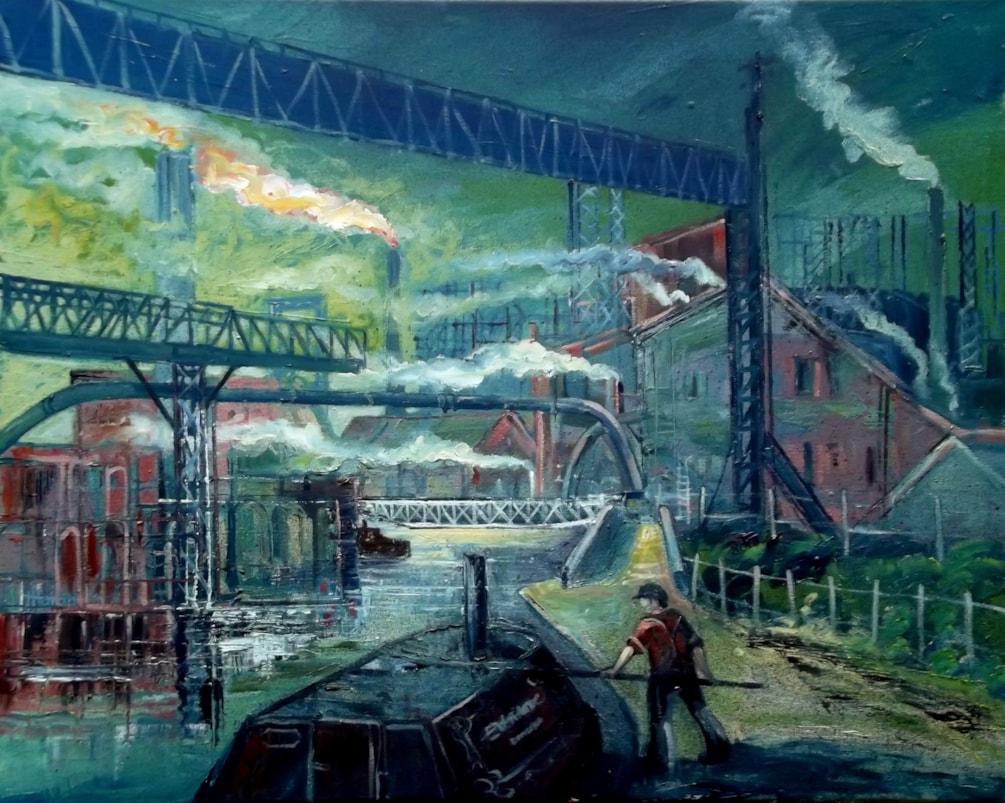 Shelton Bar Steel Works, Stoke-on-Trent. C1950