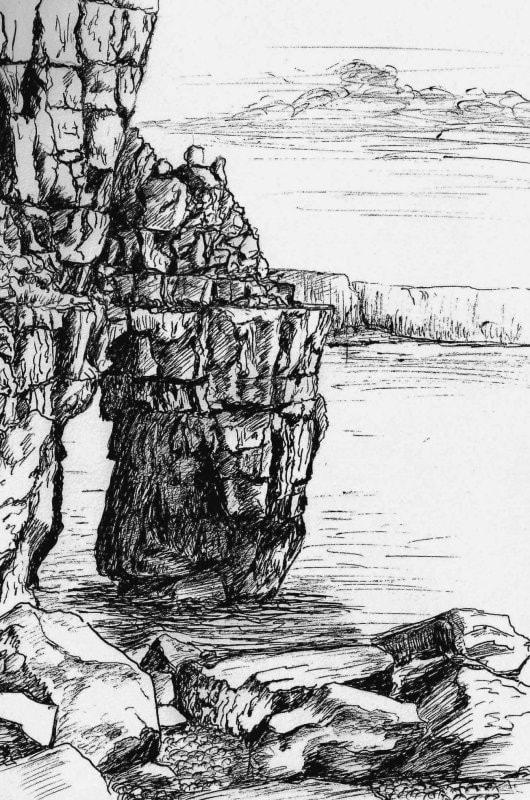 Rocks at Saint Governs