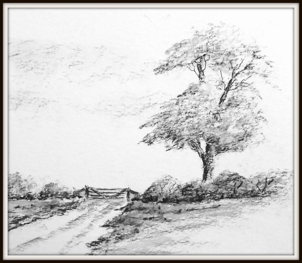 CHARCOAL SKETCH (3)