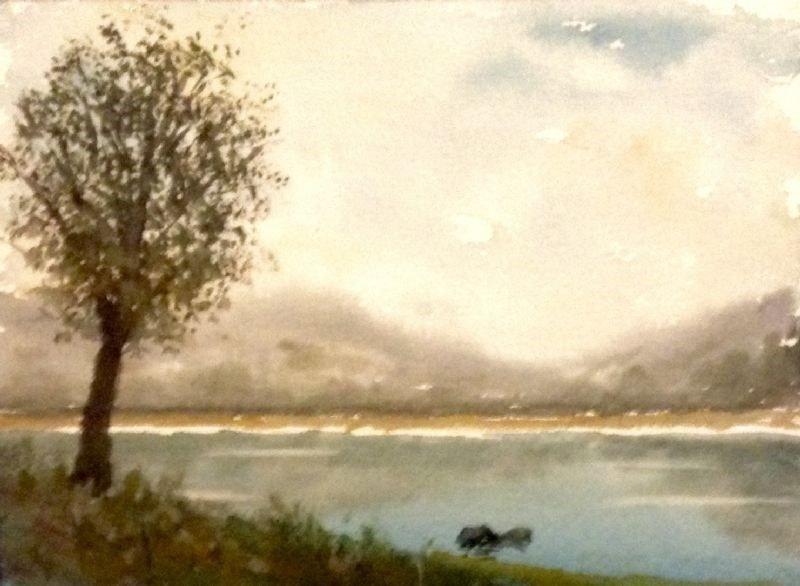 Autumn Lake.