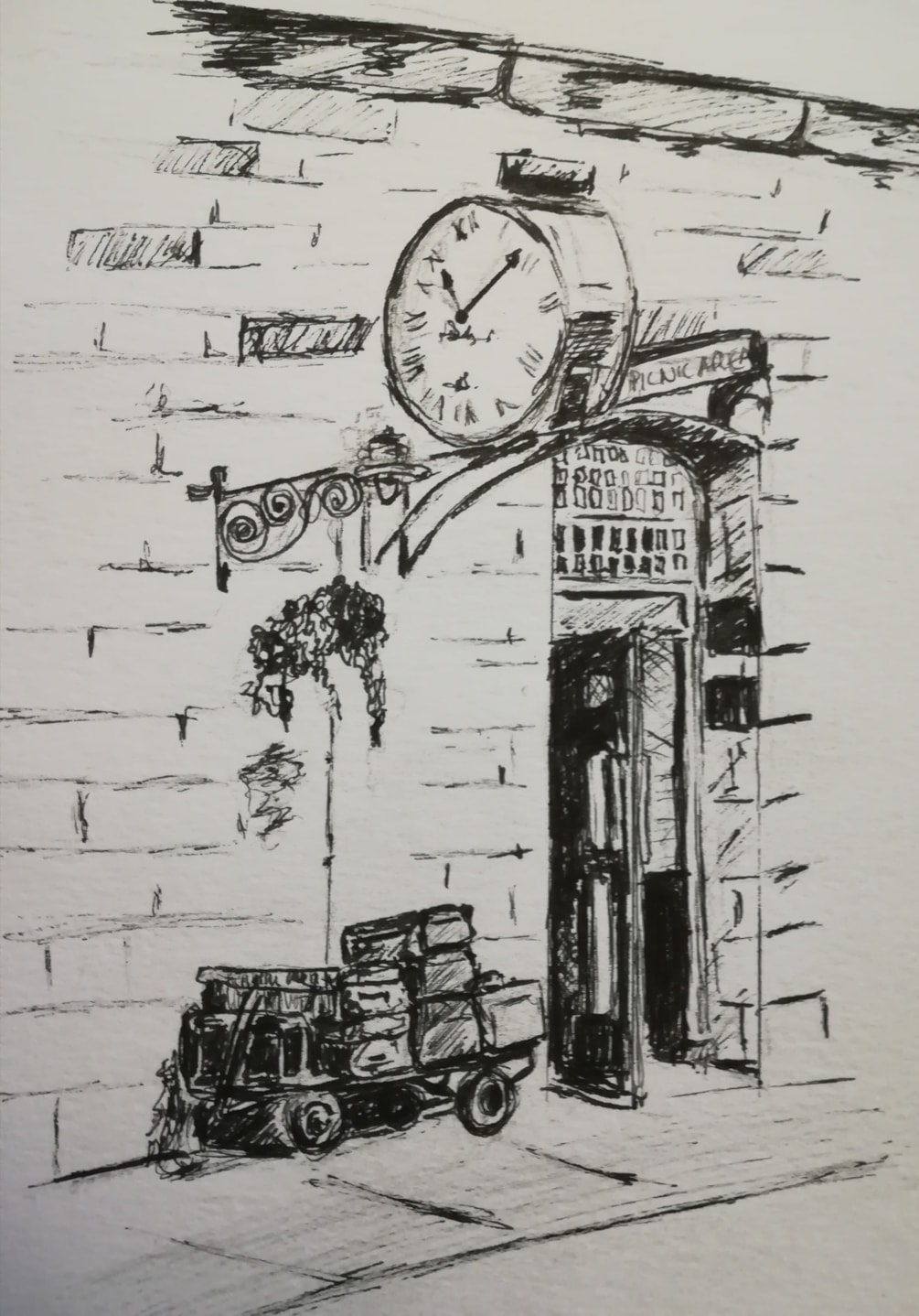 Pickering Station Clock