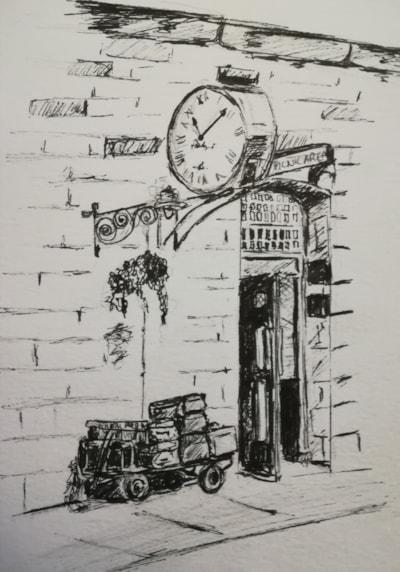 Pickering Station Clock