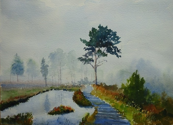 Mist over the Common