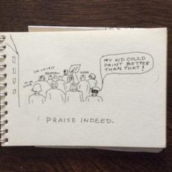 praise indeed