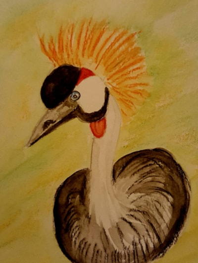 African crane.