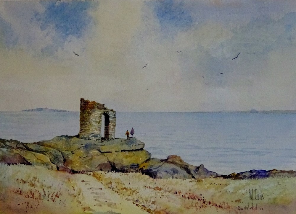 Lady's Tower Elie Fife Scotland