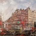 Impressions along Marylebone Rd. - London
