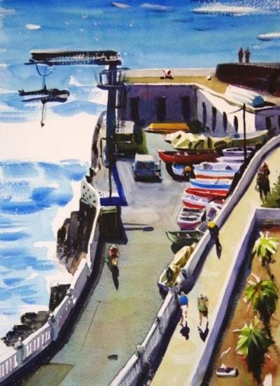 Peurto De Santago Harbour