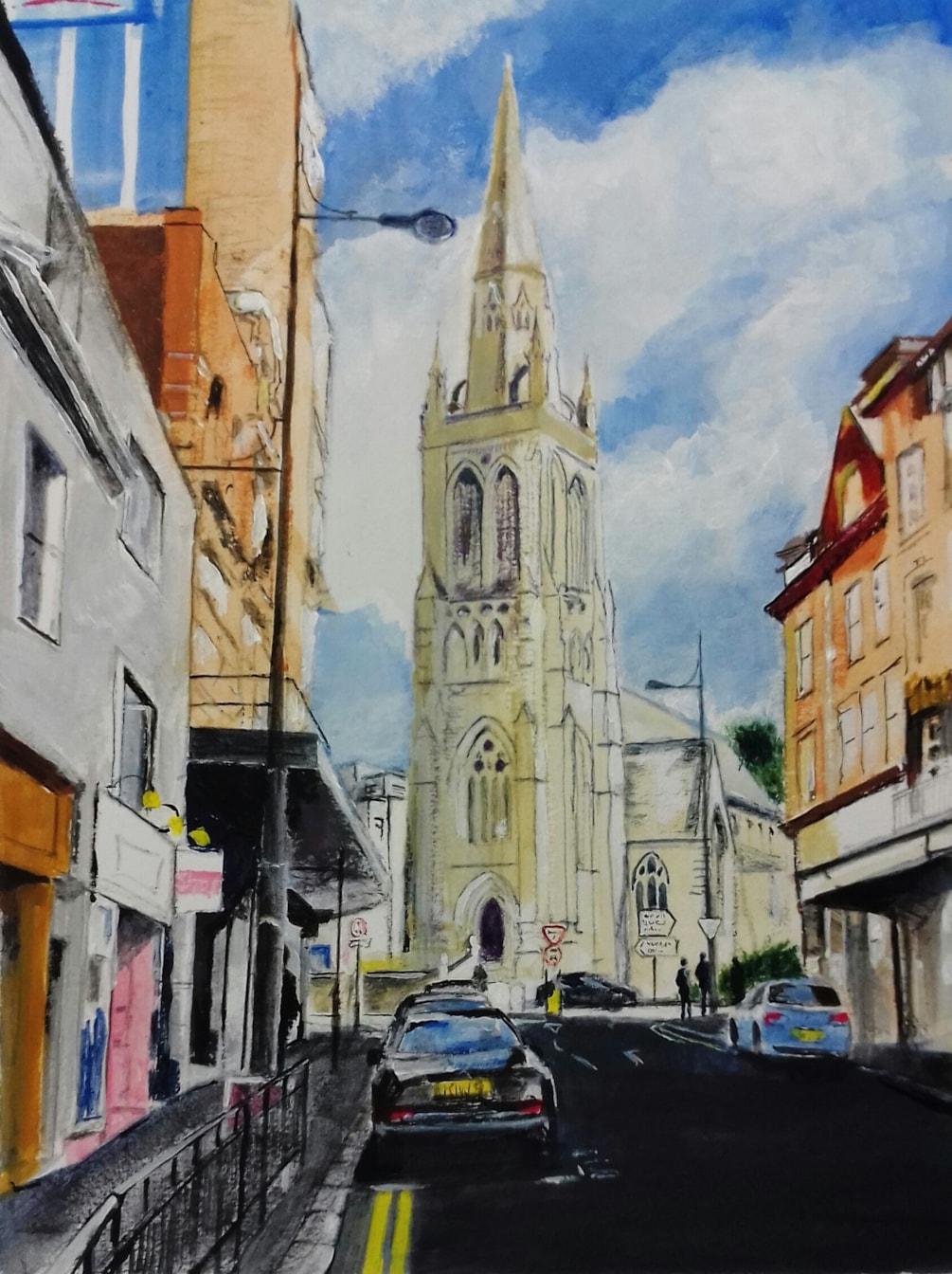 A church in Bournemouth