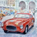 Ferrari at the Mille Miglia