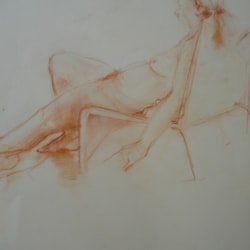Quick sketch...Life Drawing.