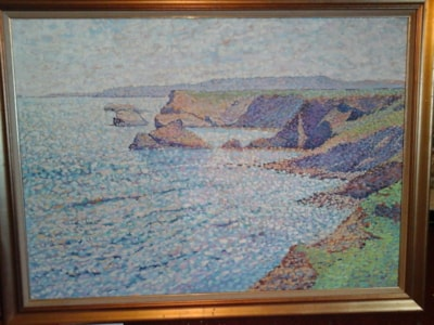 Cornwall seascape oil painting SOLD