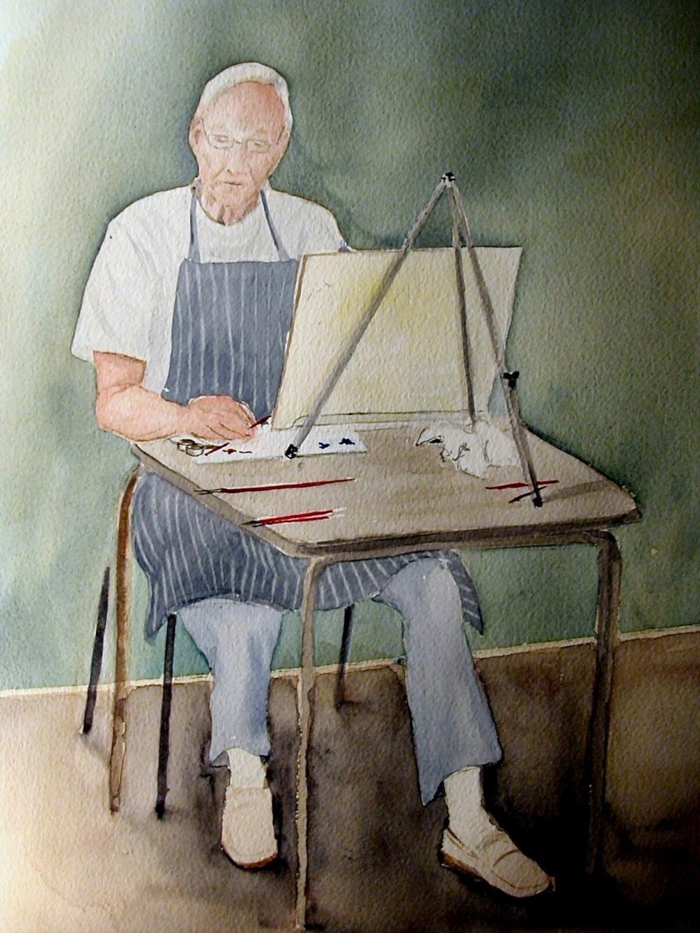 A fellow artist
