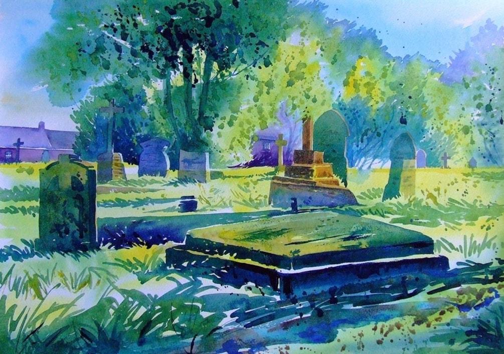 St Hilary Graveyard