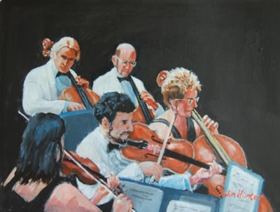 BBC Orchestra playing Purcell 3