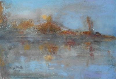 Lake, early morning 4