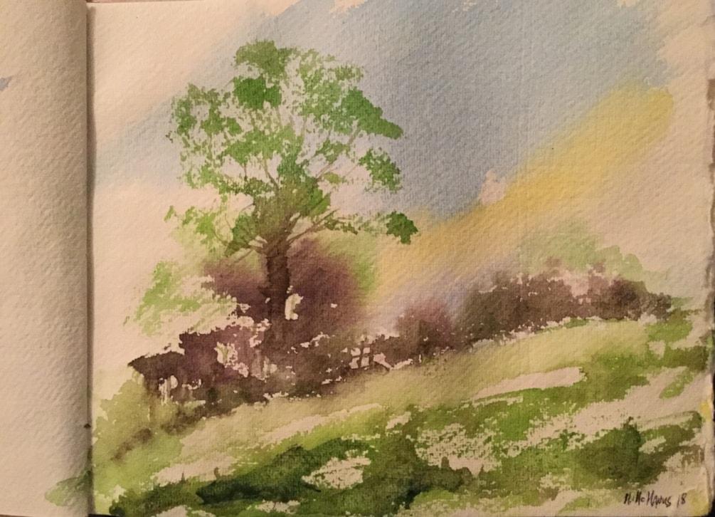 Towards Hopper's Wood.